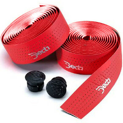 Deda Bicycle Handlebar Tape - Mistral Red