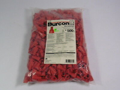 Gardner Bender 13-DRW Durcon Red Wire Connector 18-8AWG 500-Pack ! NWB !