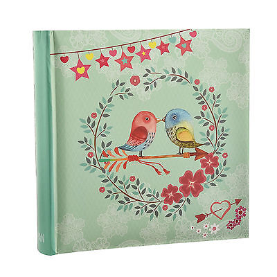 Arpan Vintage Bird Photo Album Slip In Case Memo Album 6x4 for 200 photos AL9768