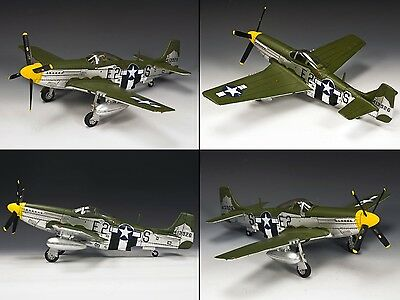 King & Country U.s. Air Force Af031 P51 D Day Mustang Fighter Mib