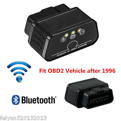 OBDII OBD2 ELM327 Smart Auto Diagnostic Scanner (Bluetooth,WiFi) Diagnostic Tool