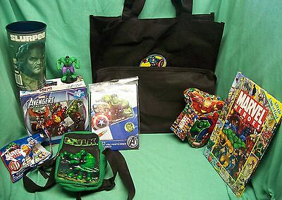 marvel comic assorted merchandise x 12