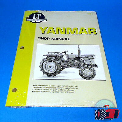 YM1 Workshop Manual Yanmar YM135 YM155 Tractor & YM195 YM240 YM330 incl D suffix