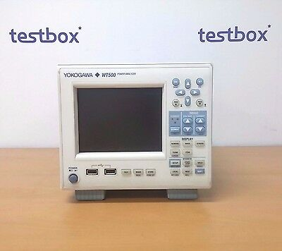 YOKOGAWA WT500 Power Analyzers 3ch with option -D/G5/DT