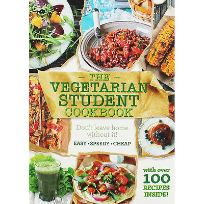 The Vegetarian Student Cookbook (Paperback), Non Fiction Books, Brand New