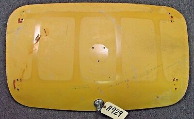 Used . Austin Healey Sprite Mg Midget Trunk Lid With Handle, Lock And Key  A929