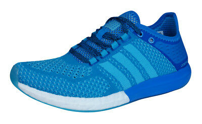 adidas CC Climachill Cosmic Boost Womens Running Trainers / Shoes - Blue