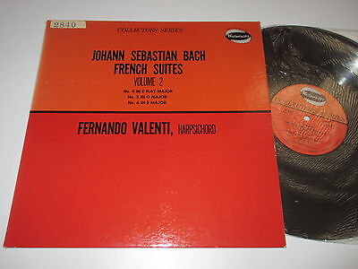 LP/BACH/FRENCH SUITES/Volume 2/VALENTI FERNANDO/Westminster W-9301