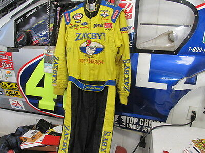 Nascar Race Used John Wes Townley Zaxbys Driver Suit Arca Series