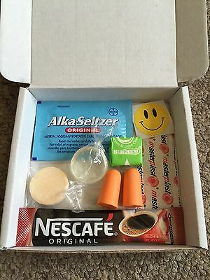 HANGOVER Survival KIT - Hen Stag 18th 21st Party Keepsake Gift Wedding Favour
