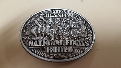 2016 Hesston NFR Adult Rodeo Belt Buckle - Collector Series