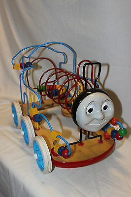 Anatex 1999 Thomas The Train Rollercoaster Wood Bead Maze