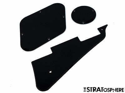 *NEW Black PICKGUARD & CONTROL PLATES for Gibson USA Les Paul Standard 1 Ply