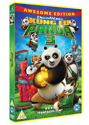Kung Fu Panda 3 DVD (2016) Jennifer Yuh cert PG Expertly Refurbished Product