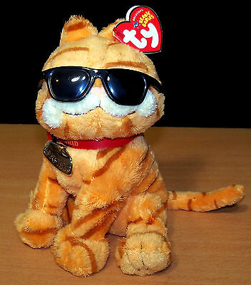 "Ty Beanie Plush Garfield ""Cool Cat"" - Excellent Condition!"