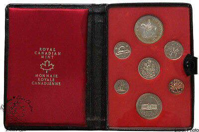Canada 1973 PEI Double Dollar Set with Small Bust Quarter