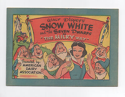 Walt Disney's  Snow White And The Seven Dwarfs  The Milky Way  Comic Book 1955