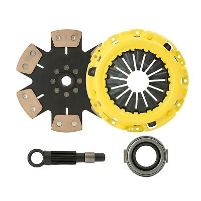 CLUTCHXPERTS STAGE 4 CLUTCH KIT Fit 2004-2014 SUBARU IMPREZA WRX STI 2.5L TURBO