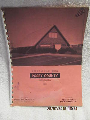 VINTAGE - PLAT Book of Clare County Michigan - $19.99 | PicClick on