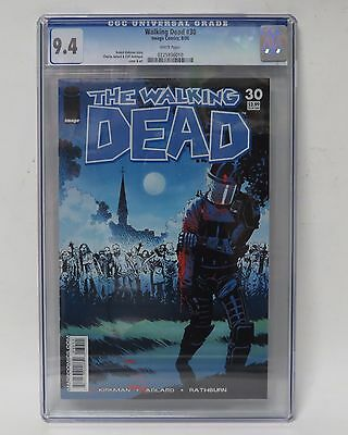 Image Comics 8/06 The Walking Dead #30 WHITE Pages CGC Universal Grade 9.4