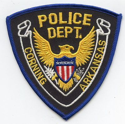 Corning Arkansas Ar Police Patch