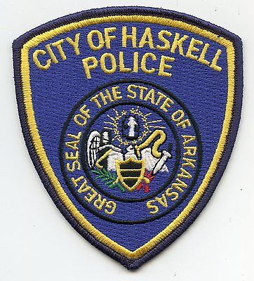Haskell Arkansas Ar Police Patch