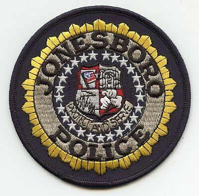 Jonesboro Arkansas Ar Police Patch