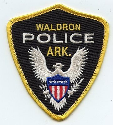 Waldron Arkansas Ar Police Patch