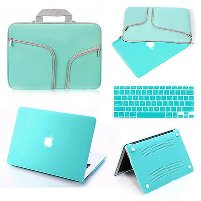 Carry Bag+Hard Shell Case+Keyboard Cover Set for Macbook Pro/Air/Retina 11/13/15