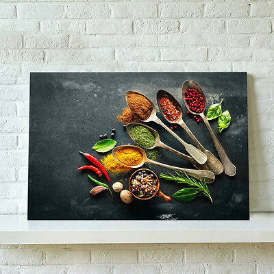 Unframed Modern Canvas Print Wall Art Painting Picture Kitchen Decor Condiment