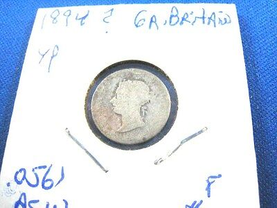 Great Britain 1894 4 pence