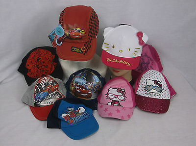 Job Lot of 20 Boys Girls Branded Baseball Caps New Official Licenced Caps Lot 4