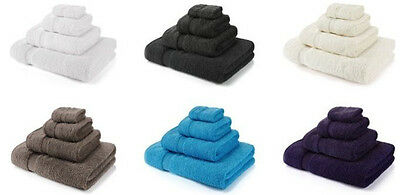 Luxury 100% Egyptian Cotton Hand, Bath Towels Sheets 700gsm Super Soft Thicker