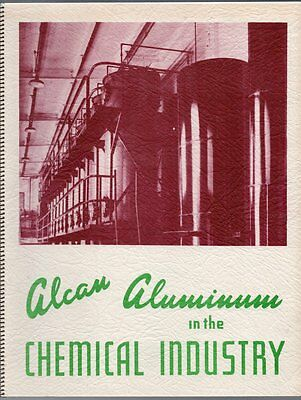 TWO ALCAN ALUMINUM COMPANY OF CANADA SALES BROCHURES 1950s Chemicals Industry