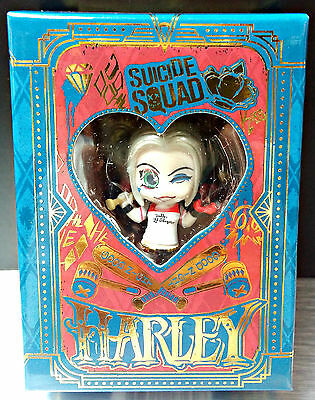 Harley Quinn Figure Cosbaby Key Chain Suicide Squad Winking Version