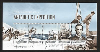 2014 Antartic Expedtion Miniature Sheet