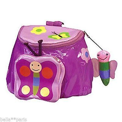 NWT Kidorable Childrens Butterfly Backpack Lunch Bag