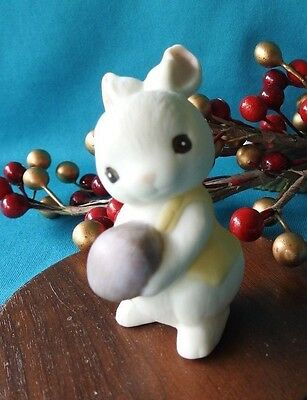 Hallmark Merry Miniature 1985 Ceramic Bunny MINT