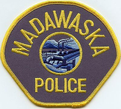 Madawaska Maine Me Police Patch