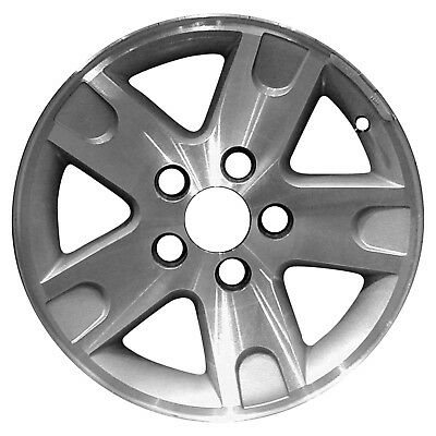 03466 Replacement New whee Fits 2002-2004 Ford F150 17in, Machined w/Silver
