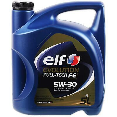 [6,18€/l] 5L Elf Evolution 5W30 Full Tech Fe Dpf Motoröl Renault Rn0720