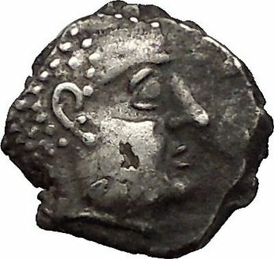 Southern Arabia, Qataban Silver Arabian Greek-Like Coin 2-1st Cen BC Very Rare
