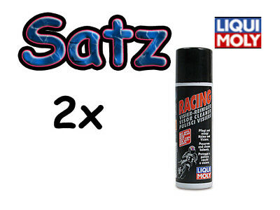 2x LIQUI-MOLY Visier Reiniger Spray 100ml Racing MOPED MOKICK ROLLER MOTORRAD