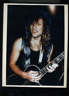 Jon Bon Jovi original publicity press photo #5