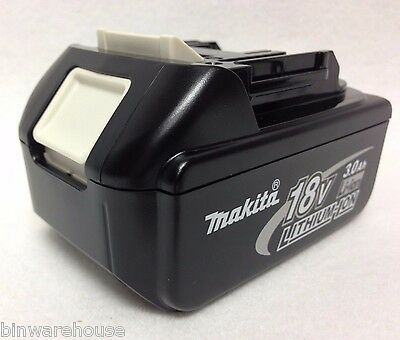GENUINE Makita BL1830 NEW 18V 18 Volt LXT Lithium-Ion 3.0 Ah Battery
