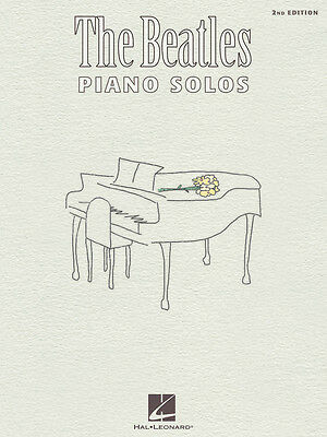 The Beatles Piano Solos Sheet Music Song Book