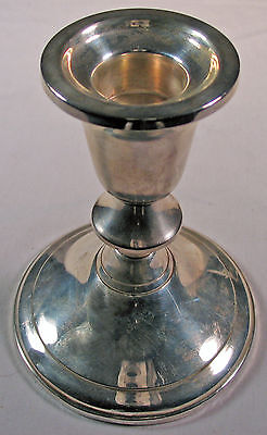 Single Sterling American Candlestick marked GiftAmerica
