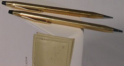 Cross Gold-plated Ball Pen and Pencil Set