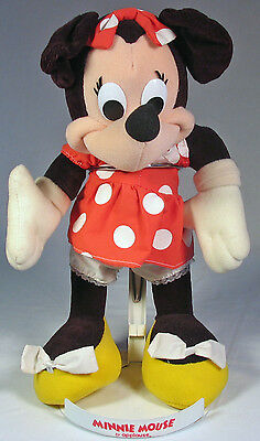 Minnie Mouse 1980 Applause doll with original stand