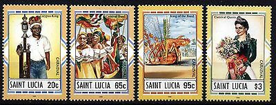 1255 St. Lucia 1996 Carnival MNH